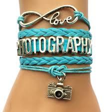 com buy drop shipping infinity love photography com buy drop shipping infinity love photography bracelet custom handmade wristband hobbies professional charm bracelet bangle from reliable