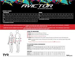 Tyr Avictor Size Chart Tyr Avictor Prelude Female Open Back Suit 17