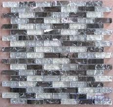 le glass tile x led mosaic black steel blend glossy le glass tile manufacturers