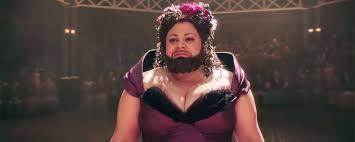"""Résultat de recherche d'images pour """"the greatest show man the woman with beard"""""""