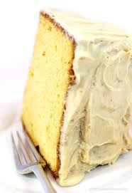 this delicate flavored old fashioned burnt sugar chiffon cake recipe is an original family recipe
