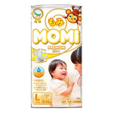 <b>Подгузники MOMI Premium L</b>( 9-14 кг), 50 шт. — купить в ...