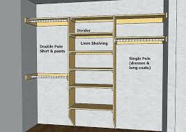building closet shelves great diagrams with measurements and info on designing a closet best wood for building closet shelves