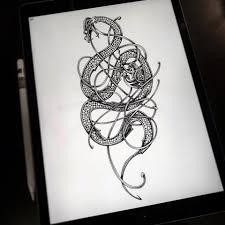 Projet Disponible Jörmungand Le Whole Lotta Ink Tattoo