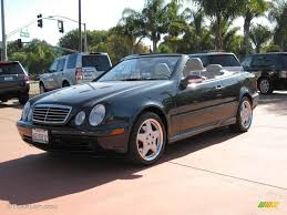 2001 Black Opal Metallic Mercedes-Benz CLK 430 Cabriolet #19267722 ...