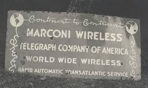 「Guglielmo Marconi radio between england and canada」の画像検索結果