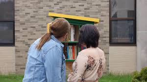 Local artist, BCAT instructor donates 'Little Free Library' to Jeff Tech |  News | thecourierexpress.com