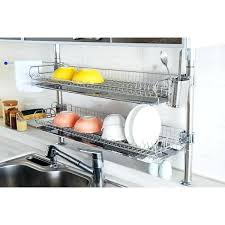 commercial kitchen drying rack kitchen drying racks sits in cupboard over sink dish drying rack dd
