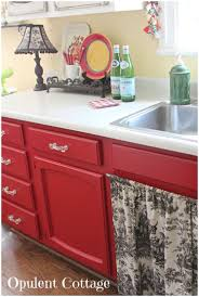 Black And Red Kitchen Kitchen Red Kitchen Ideas Pinterest Red Cabinets Check Black