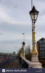 old style lighting. Old Style Victorian Wrought Iron Street Lights On Queens Bridge Belfast Northern Ireland UK Lighting
