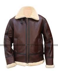 b3 raf aviator pilot flight wwii shearling er jacket