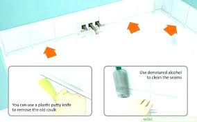 how to remove calk from shower how to remove caulking from hands how to remove silicone how to remove calk from shower