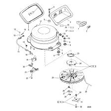 Genuine mercury mercruiser parts starter assembly manual