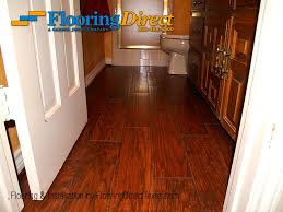 wood look tile safe for the bathroom installed by flooring direct