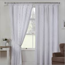 white lined curtains white lined curtains 168635 o linen look voile curtains in white o linen