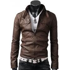 brown leather jacket zoom mens