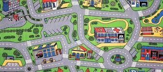 precious road play rug c3923995 cars play mats city life large childrens road play rug