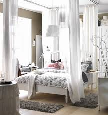 Schlafzimmer Bett Dekorieren Schlafzimmer Wandgestaltung Hinterm