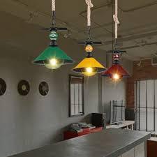 metal shade pendant lighting. industrial hanging pendant light color option with metal shade, rope fixture cord shade lighting