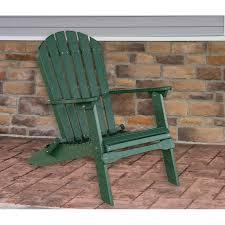 chair green folding adirondack furniture made in usa builder76