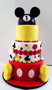 Mickey Mouse 1st Birthday Cakecentralcom