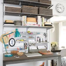 office wall desk. Wall Desks. Platinum Elfa Office Shelving Desk N