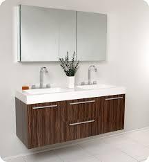 washroom furniture. fresca opulento walnut double sink bathroom vanity w large medicine cabinet washroom furniture t