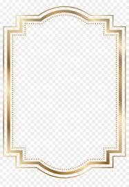 Red Certificate Border Gold Border Png Free Transparent