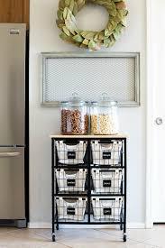 kitchen storage baskets wire beautiful produce kitchen organization
