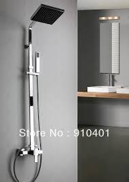 strikingly inpiration shower head faucet set bathroom fixtures combosbathroom great brilliant wall mount 8 rain square