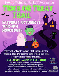 Trick or Treat Trail Flyer