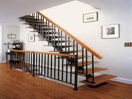Stairs, Inspiring Indoor Railings Interior Stair Railing Ideas Brown With  Black Stairsindoor Railings: astonishing