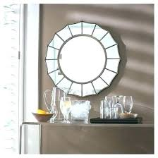 mirror with shelves for hallway antiqued wall idea target shelf rectangle metal decorative studios mirrors white