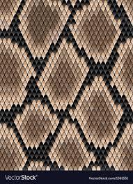 Snake Skin Pattern Stunning Seamless Pattern Of Snake Skin Royalty Free Vector Image