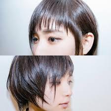 黒髪風ベリーショートで小顔にカッコ可愛く決まるヘアスタイルhair