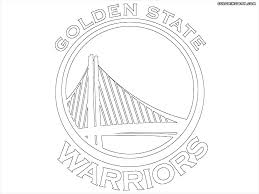 warriors coloring pages best golden state warriors coloring pages