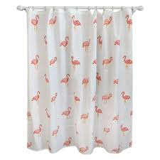 Flamingo Shower Curtain Ivory Pillowfort Target