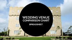 Wedding Venue Comparison Chart Planning Tools 101 Wedding Venue Comparison Chart Offbeat