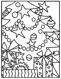 Small Picture Christmas tree decorations coloring pages ColoringStar