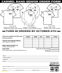 T Shirt Order Forms Lovely T Shirt Order Form Template Free Best Templates 17