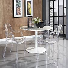 lexmod philippe starck style louis ghost chair in clear amazonca