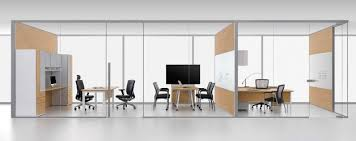 office glass walls. glass wall offices demountable vs constructed office walls