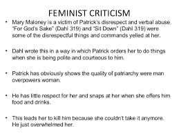 Feminist Criticism Ppt
