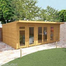 home office in garden. 6m x 4m waltons insulated garden room home office in