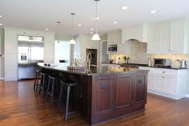 Brown And White Kitchens Two Tone Kitchen Cabinets To Create Attractive Kitchens