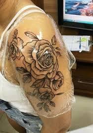 150 coole tattoos für frauen und. 30 Ideas Tattoo Frauen Rosen Oberarm For 2019 Tattoo Pins Rosen Tattoo Oberarm Frau Rosen Tattoo Oberarm Tattoo Oberarm Frau