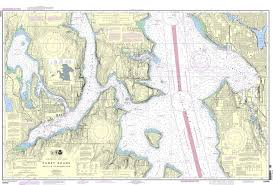 Puget Sound Chart Noaa Nautical Chart 18449 Puget Sound Seattle To Bremerton