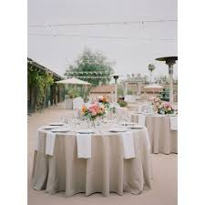 round tablecloth wedding reception spun poly tablecloth