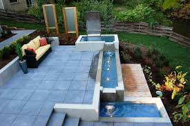 modern outdoor water fountain cozy  best  outdoor fountains