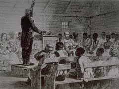 links to online resources african american christianity pt i  slave preaching on a cotton plantation